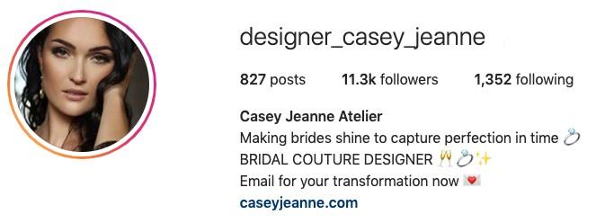 Casey Jeanne IG